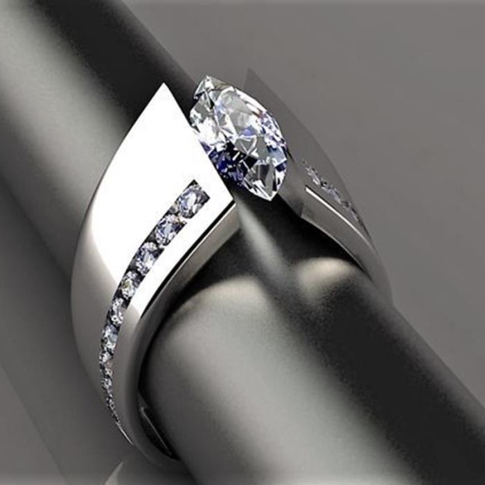 bague sterling 927 saphir diamant bague créative cheval oeil anneau princesse fête de fiançailles bague