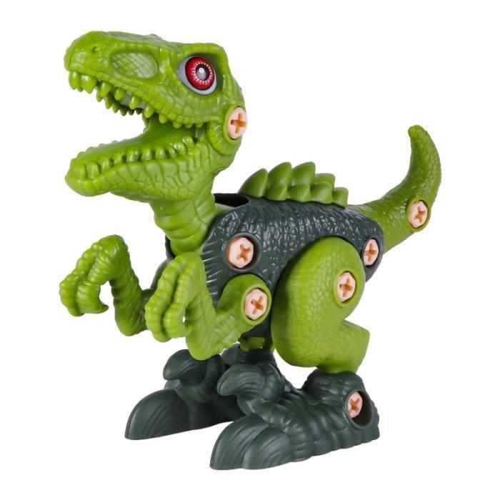 1 ensemble démonter le jouet de dinosaure Figure Construction d'apprentissage de construction d'assemblage