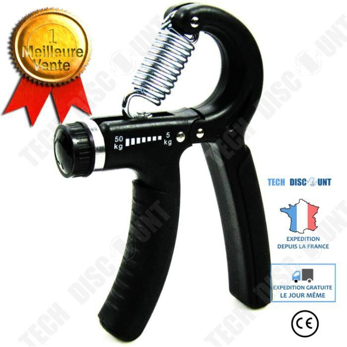 TD® Dispositif de prise de main pour la formation professionnelle de rééducation des muscles du bras des hommes