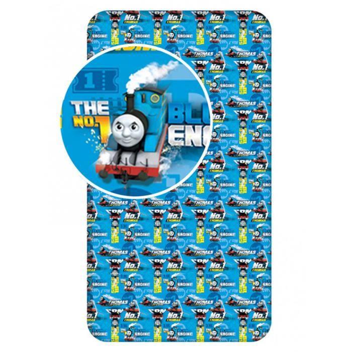 Thomas et Friends simple drap-housse bleu