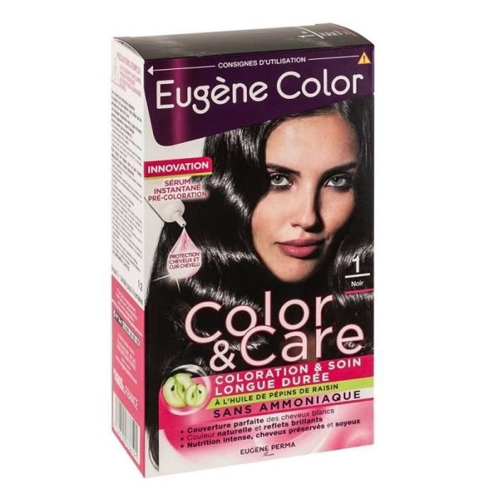 EUGENE COLOR Kit de coloration noir