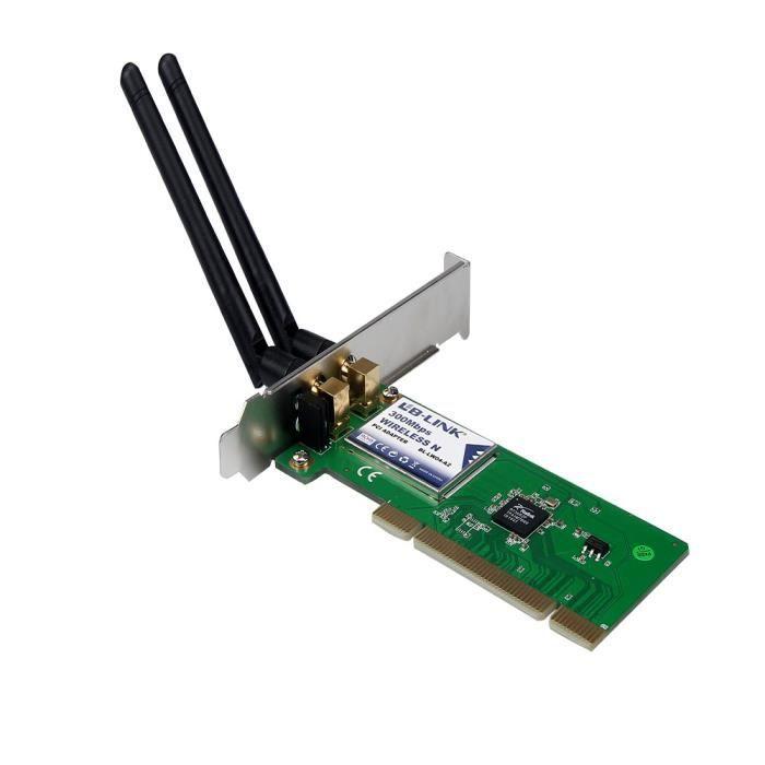 MODEM - ROUTEUR 300M sans fil N Carte PCI réseau sans fil WiFi Lan