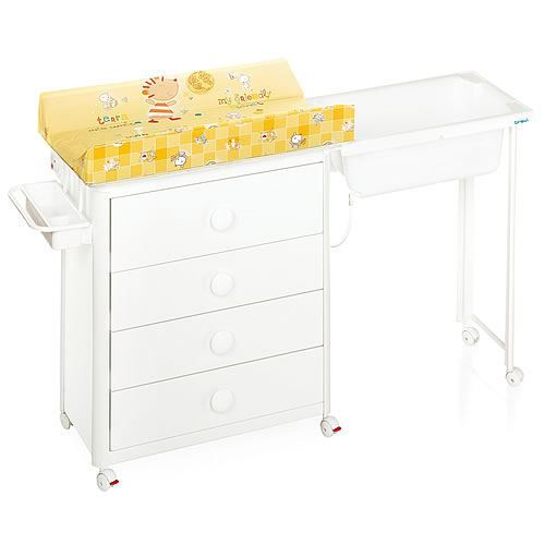 Table langer brevi idea blanc achat vente table for Table a langer baignoire