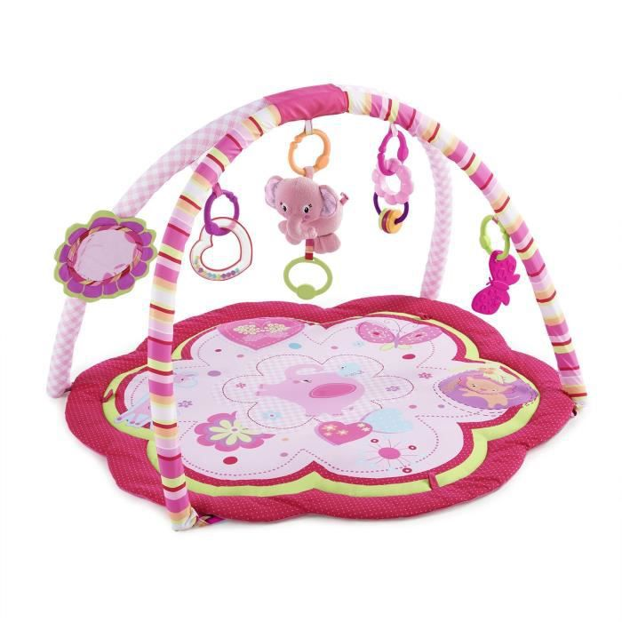 Bright Starts Tapis D Activit 233 S Safari Rose Fille Rose