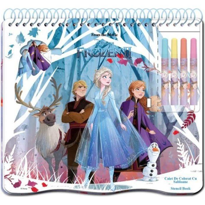 Frozen 2 La Reine Des Neiges 2 Cahier D Activites La Reine Des Neiges 2 Achat Vente Jeu De Coloriage Dessin Pochoir Cdiscount