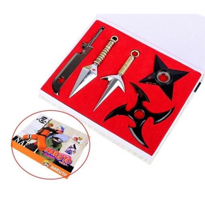 Naruto Ninja Shuriken Kunai Sasuke Kakashi Cosplay Accessoires Accueil