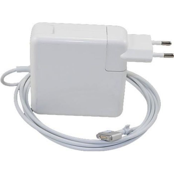 chargeur 85w magsafe 2 pour apple macbook pro 13 prix. Black Bedroom Furniture Sets. Home Design Ideas