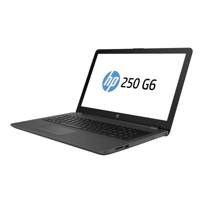 ORDINATEUR PORTABLE HP 255 G6 E2 9000e - 1.5 GHz Win 10 Familiale 64 b