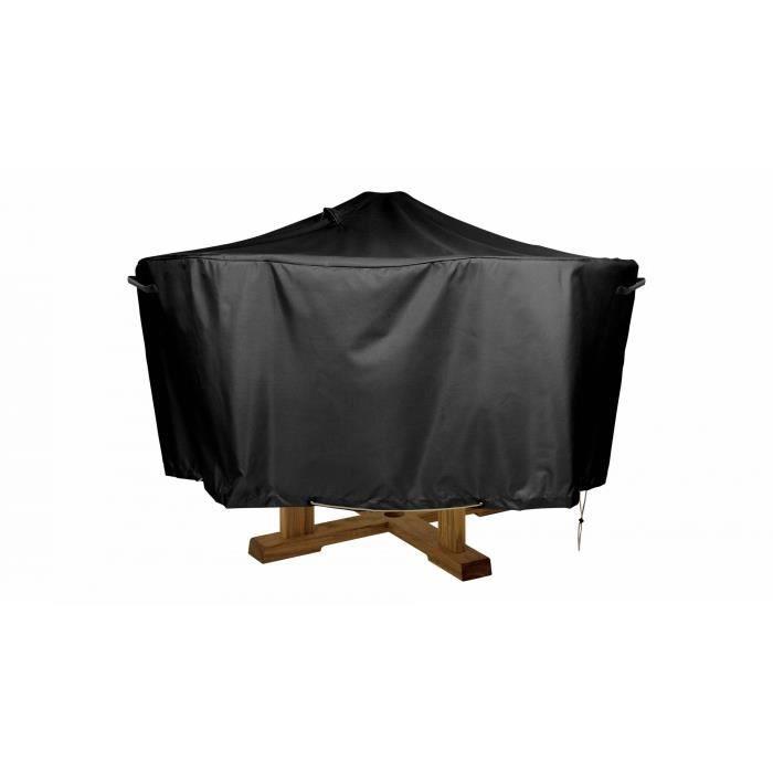 Housse de protection imperméable pour table de jardin ronde 130cm