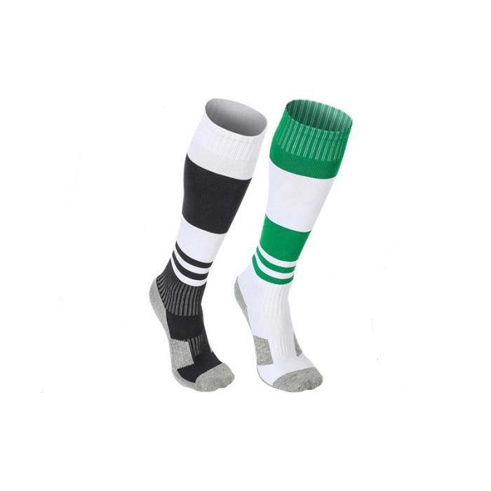 Coton Anti-Dérapant Football Chaussettes de Sport Football Baseball//hautes Stock Kit