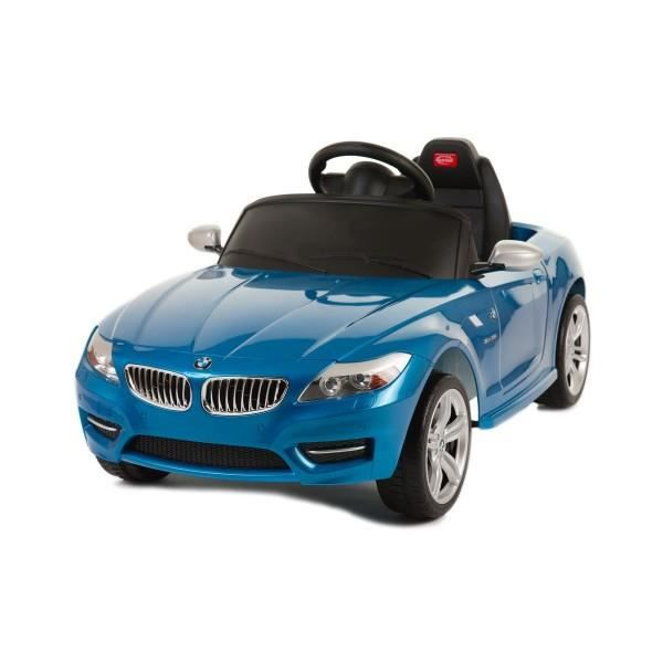 voiture lectrique bmw z4 ride on 6v bleu achat vente voiture enfant cdiscount. Black Bedroom Furniture Sets. Home Design Ideas