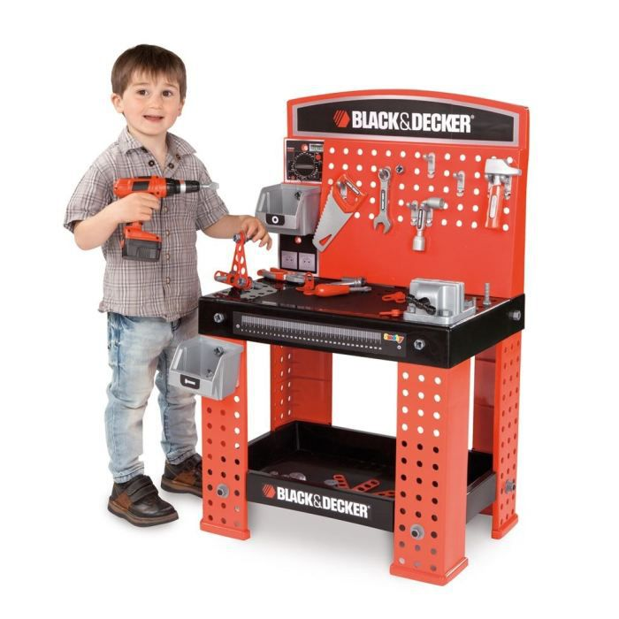 smoby super center black decker achat vente bricolage tabli cdiscount. Black Bedroom Furniture Sets. Home Design Ideas