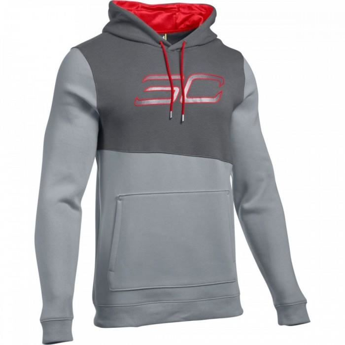 Armour Hoody Pour Capuche Veste Homme Sc30 Curry Under Stephen Top Gris À Po Game nvpwqHX