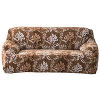 Housse de canapé épaisse en Velours pour canapé, Luxury Flowers, 2 Places