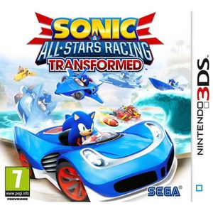 JEU 3DS SONIC & ALL STARS RACING TRANSFORMED / Jeu 3DS