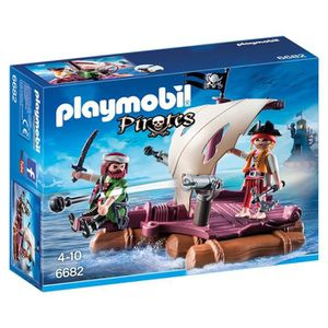 ASSEMBLAGE CONSTRUCTION Playmobil Pirate Raft SNKWH