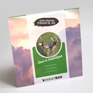COFFRET SPORT - LOISIRS Yakaybox - Box cadeau - Saut à l'élastique