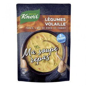 SOUPE Knorr Ma Soupe Repas Légumes Volaille Pâtes Lait d