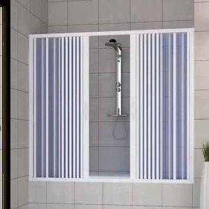 CABINE DE DOUCHE Pare baignoire douche en Plastique PVC mod. Nina 1