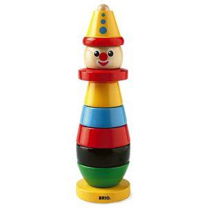 BOÎTE À FORME - GIGOGNE BRIO - 30120 - Clown A Empiler BRIO