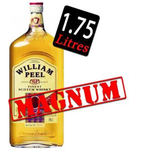 WHISKY BOURBON SCOTCH William Peel Magnum 175cl 40°