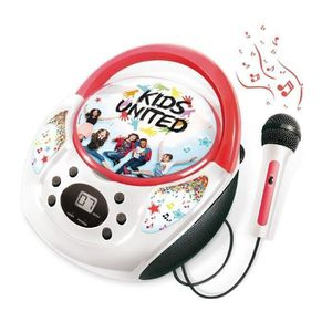 CASQUE AUDIO ENFANT KIDS UNITED Boombox + Micro