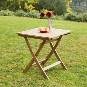 Table carree teck achat vente table carree teck pas cher soldes cdiscount - Table jardin teck massif fort de france ...