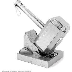 VOITURE À CONSTRUIRE AVENGERS Thor's Hammer Mjolnir Maquette à Construi