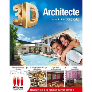 PROFESSIONNEL 3D Architecte Pro CAD