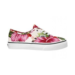 BASKET Basket Vans Authentic Imprimé Fleurs Blanc