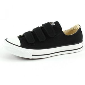 Baskets Converse BASKET CT ALL STAR OX BLACK VELCRO Noir ...