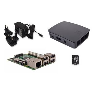CARTE MÈRE Raspberry Pi 3 Official Desktop Starter Kit (8GB,