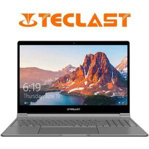 """Achat PC Portable Teclast F15 Ordinateur Portable PC 15,6"""" QWERTY Intel N4100 Quad Core 8 Go de RAM 256 Go SSD 1.0MP Caméra Gris Argenté pas cher"""