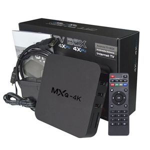 MODULATEUR - MODEM Vip2store® Box MXQ 4K Smart TV Android Media Playe