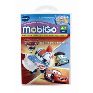 JEU CONSOLE ÉDUCATIVE VTECH Jeu Mobigo Cars Toon