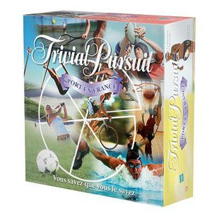 JEU SOCIÉTÉ - PLATEAU Trivial Pursuit Sports En France