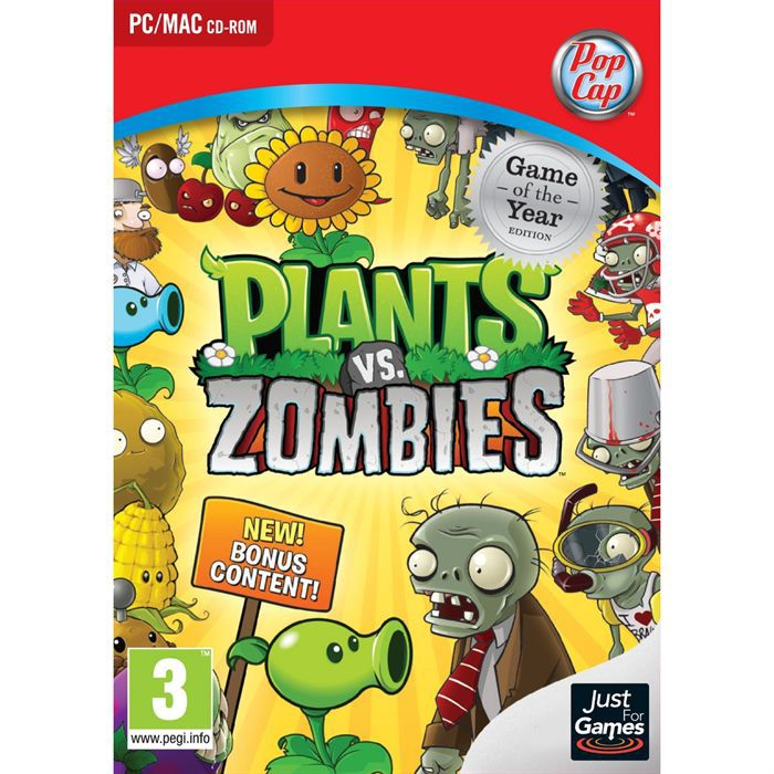 Jeux Plants Vs Zombies