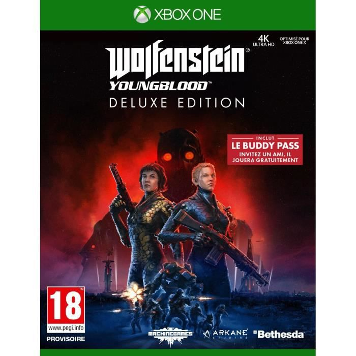 Wolfenstein II: Youngblood Deluxe Edition Jeu Xbox One
