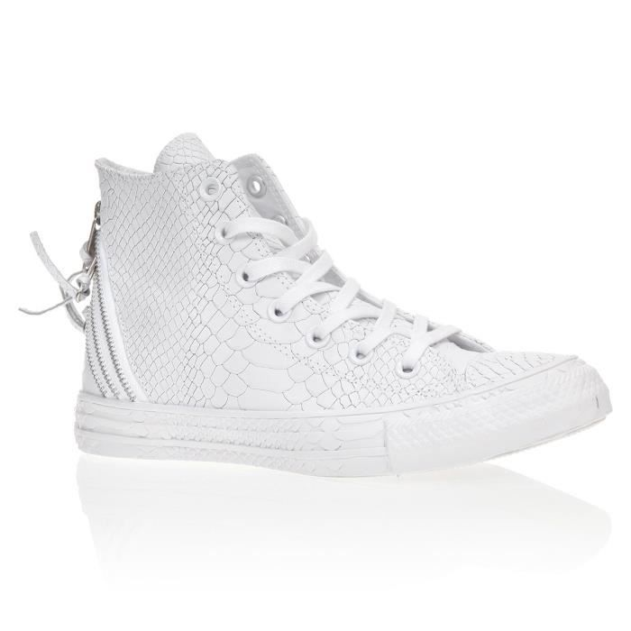 all star converse homme cuir blanc