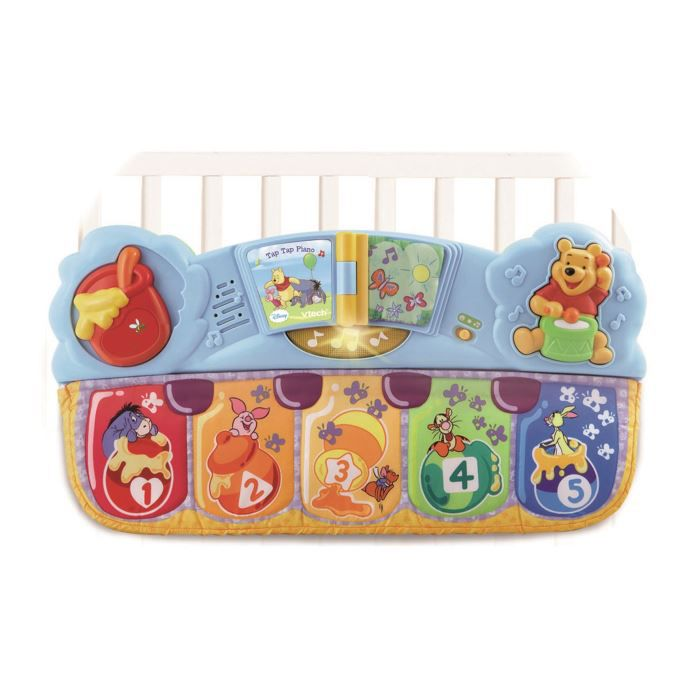 TABLE JOUET D'ACTIVITÉ WINNIE L'OURSON Tap tap piano VTECH