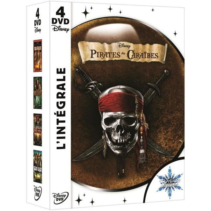 dvd coffret int grale pirates des caraibes en dvd film pas. Black Bedroom Furniture Sets. Home Design Ideas