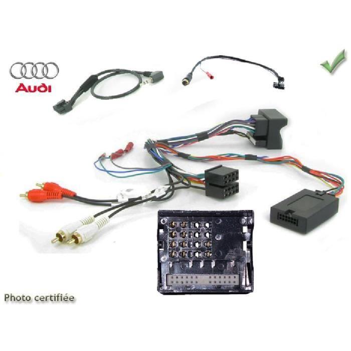 Interface Cde au Volant Audi A3/ A4/ A6/ TT ap01 JVC - ADNAuto - ADN-CAV
