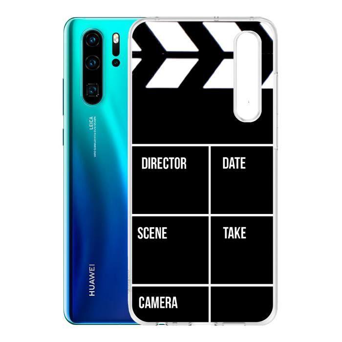 Coque Huawei P30 - Clap Cinema. Accessoire telephone, coque de protection