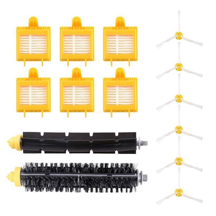 Kit de filtre HEPA de brosse de batteur de poils de rechange pour iRobot Roomba 700 série 760 770 780 790 pièces d&#39a CB7036