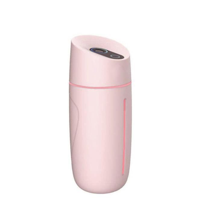 7 Lumières De Couleur L'humidificateur d'air de Mode(rose)