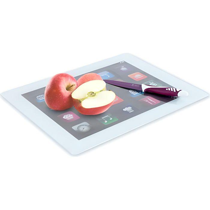 Planche à Découper en Verre iPad