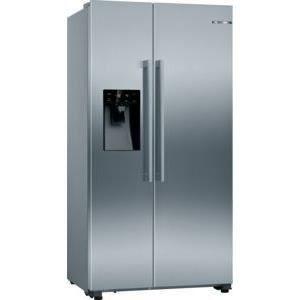 bosch - réfrigérateur américain 91cm 533l a+ nofrost inox - kad93vifp