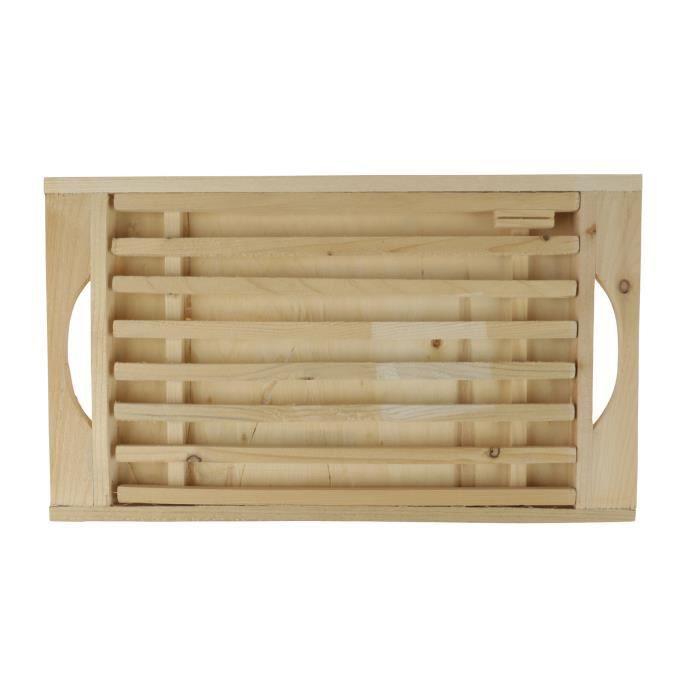 FAVECO - 507320 - Planche à découper bambou 2.5x2.5x6cm