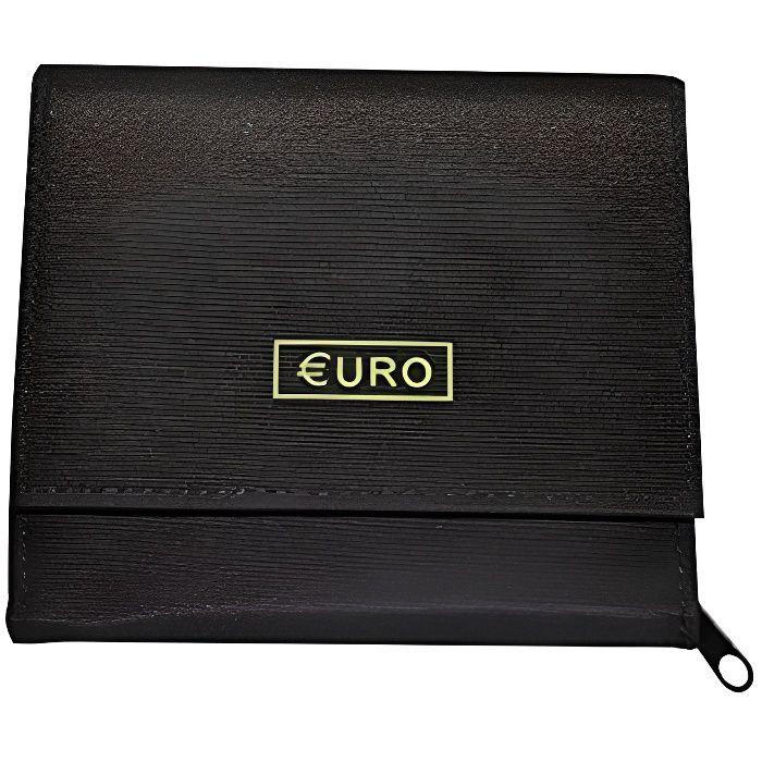 porte-monnaie Euro pratique avec 8 compartiments monnaie séparé - De Frederic Johns