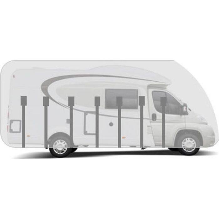 Housse pour camping-car profilé long. 8.0m HBCOLLECTION